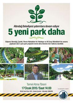 5 Yeni Park Daha Açıyoruz