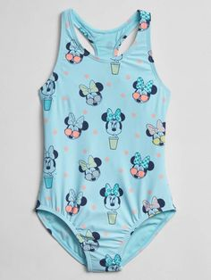 f9187fec4244d Gap GapKids | Disney Minnie Mouse Swim One-Piece Best Baby Gifts, Girls  Swimming
