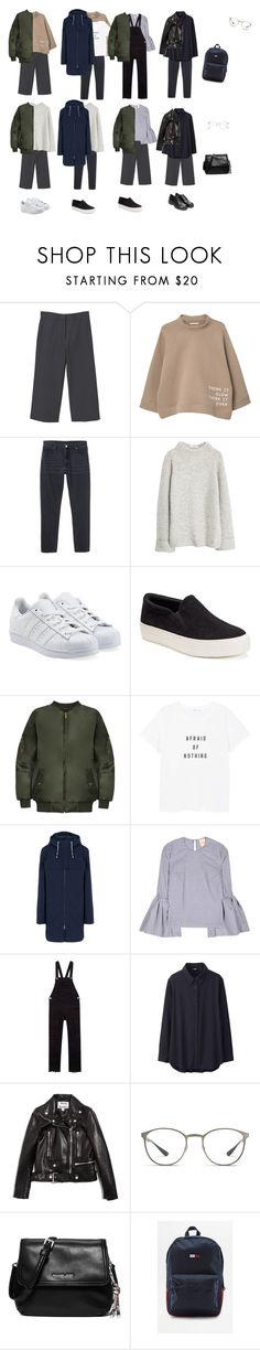 """""""Work week"""" by stylista-81 on Polyvore featuring мода, MANGO, Monki, adidas Originals, Candie's, WearAll, The North Face, Roksanda, Uniqlo и Acne Studios"""