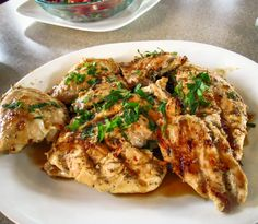 OnTheMove-In the Galley: Sticky Coconut Chicken with a Chili Glaze
