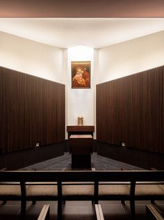 Gallery of Jesuit High School Chapel of the North American Martyr / Hodgetts + Fung - 3