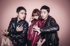 Exo's D.O ❤ Park Shin Hye ❤ Jo Jung Suk