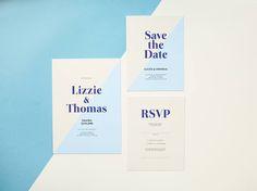 We're loving that modern edge on Elizabeth's geometric wedding invitation set Engagement Invitations, Modern Wedding Invitations, Wedding Invitation Sets, Baby Shower Invitations, Invitation Cards, Birthday Invitations, Wedding Events, Weddings, Geometric Wedding
