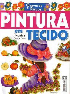 PINTURA EM TECIDO-ESCALA - MARIA HERMITA - Picasa Web Albums...FREE MAGAZINE!!