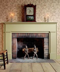 CLICK HERE for the free project plans to make this Simple Federal Fireplace Mantel. - CLICK TO ENLARGE