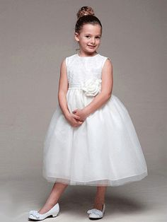 Elegant Ivory Dress With Tulle Sparkly Skirt