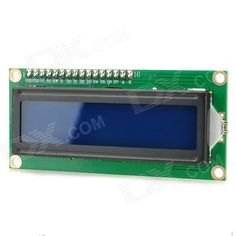 """""""5V IIC 2.6"""""""" Blue Screen LCD Display Module for Arduino - Green + Black"""". """"Brand N/A Model N/A Quantity 1 Color Green + black Material FR4 Features With two IO ports Specification 2.6"""""""" screen; Power supply: 5V; Supports I2C protocol; With backlight and contrast adjustment potentiometer; 4-cable output Application For robot development English Manual/Spec No Other A product for arduino that works with official Arduino boards Packing List 1 x Module"""". Tags: #Electrical #Tools #Arduino #SCM…"""