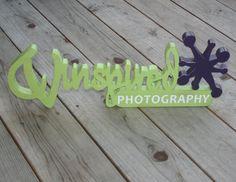BUSINESS LOGO - Custom Wood Sign
