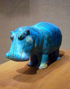 William the Hippopotamus, who lives at the Met