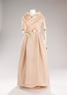 Evening gown, House of Dior, 1957