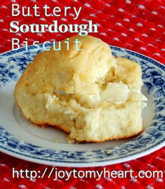 Buttery Sourdough Biscuits