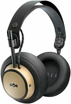 House of Marley Exodus Over-Ear Wireless Headphone Battery Life Hi Definition Drivers Premium Comfort Memory Foam Ear Cushions Onboard Mic & Remote Functionality Quick Charge Bluetooth Headphones, Over Ear Headphones, Gadget Shop, Memory Foam, Headset, Music Express, Diy Projects, Headphones, Ear Phones