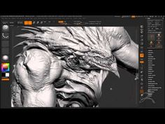 ZBrush Character Creation Workflow from BlizzardComputer Graphics & Digital Art Community for Artist: Job, Tutorial, Art, Concept Art, Portfolio