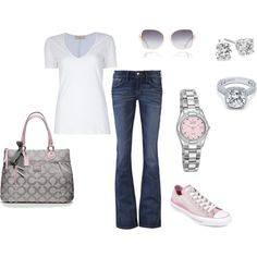 Light Pink, created by mmessenger on Polyvore