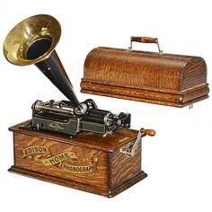 Edison home phonograph model e