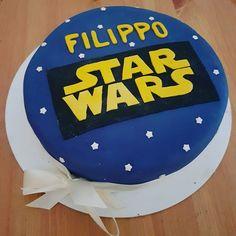 Star Wars Cake Filippo Star Wars Cake, 2d, Birthday Cake, Cakes, Stars, Desserts, Tailgate Desserts, Scan Bran Cake, Birthday Cakes
