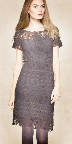 Звёздочка моя. Изысканное платье от Ralph Lauren. Хваст, мое воплощение!!! - Вязание - Страна Мам