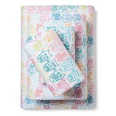 Penguin Flannel Sheet Set (Queen) - Pillowfort,
