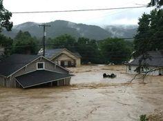 Flood in Clendenin, near Charleston, on June 23, 2016 | Charleston, WV