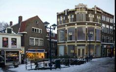 Hoogstraat rond pand Schiedam, Zuid - Holland Nederland