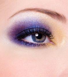 Purple eye makeup ideas <3