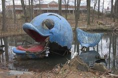 Enchanted Forest Theme Park - Remnants of a storybook amusement park hidden behind a strip mall in Ellicott City, Maryland