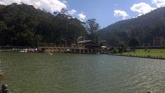 Lago do Hotel Quitandinha  Petrõpolis