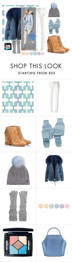 """Teri Blue!"" by flippintickledinc ❤ liked on Polyvore featuring Balmain, Ash, NOVICA, Burberry, Agnona, Deborah Lippmann and Christian Dior"