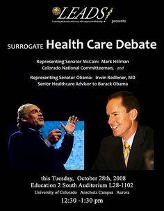 Health Care Debate 2008