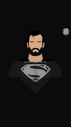 Superman Dceu Minimalism HD Superheroes Wallpapers Photos and Pictures ID 1440x2560 Wallpaper, Superman Wallpaper, Cartoon Wallpaper Hd, Avengers Wallpaper, Wallpaper Backgrounds, Superman Beard, Superman Black Suit, Marvel And Dc Characters, Beard Art