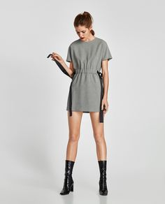 Image 1 of HOUNDSTOOTH DRESS from Zara