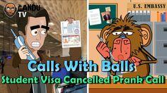 Student Visa Cancelled Prank Call - Calls With Balls - BollywoodGandu