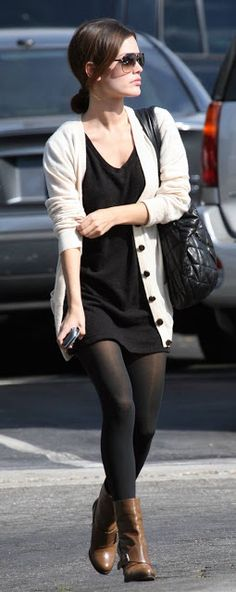 Dress Winter Tights Work Outfits Ideas - Winter Outfits for Work Trendy Dresses, Tight Dresses, Casual Dresses, Casual Outfits, Simple Dresses, Casual Shoes, Winter Outfits For Work, Fall Outfits, Summer Outfits