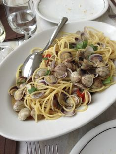 Klassische Vorspeise am Meer, Spaghetti mit Vongole-Muscheln