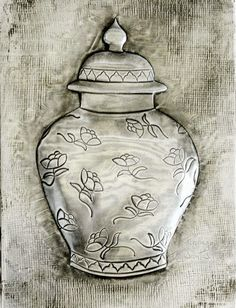 ArteyMetal: Placa decorativa. Tarro 07