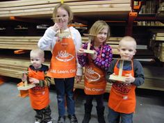 Family Fun Idea: Home Depot's Kids Workshops - Family Fun Twin Cities Home Depot Kids Workshop, Free Parenting Classes, Twin Cities, Childhood, Learning, Children, Coupon Lady, Summer Bucket, Fun