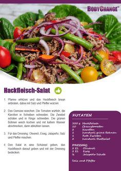 Hackfleisch Salat Rezept