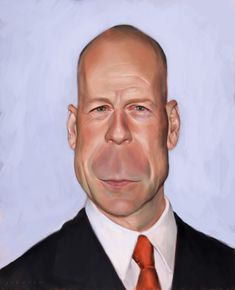Digital <b>Caricatures</b> are more appealing.