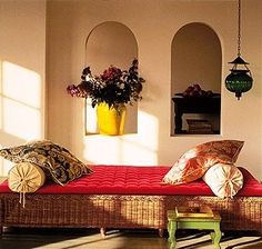 Celebrations Decor - An Indian Decor blog: Daybeds and Cushions in Living rooms