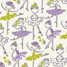 purple patterned | gallery 3 // ballerina pattern