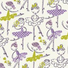 purple patterned | gallery 3 // ballerina pattern