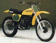 1976 rm 250 | Le Guide Vert / suzuki - Les fiches techniques moto enduro, trial et ...