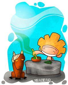 Yerbero/Hierbero: Persona que sabe curar con hierbas. Ej: La curará enseguida, porque es muy buen yerbero.