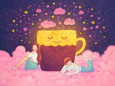 커피로 나누는 기쁨의 불꽃이 퐁퐁퐁~~~