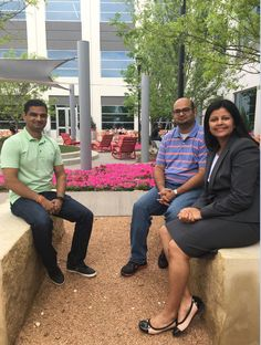 7-Eleven is excited to announce three new faces who will be joining our Digital Center of Excellence team! Two of our newest Product Managers are Nishanth Mandaara (left) in Mobile Wallet and Vinu Singh (back right) in Interaction Designer. Zainab Arsiwala (front right) joins the team assisting in SEO & Web Analytics