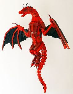 "#LEGO ""The tales and songs fall utterly short of your enormity, oh Smaug the stupendous!"""