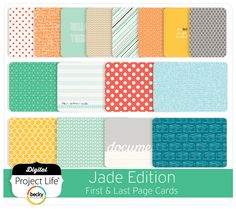 Jade Edition Full Collection – digitalprojectlife