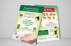 Panfleto do setor de Qualidade do Hospital Beneficência Portuguesa de São José do Rio Preto/SP