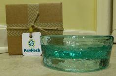 PawNosh Cubby Mini Glass Pet Bowl Product Review http://www.floppycats.com/pawnosh-cubby-mini-glass-pet-bowl-product-review.html