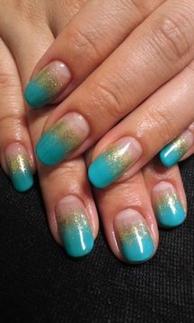 Blue gold French